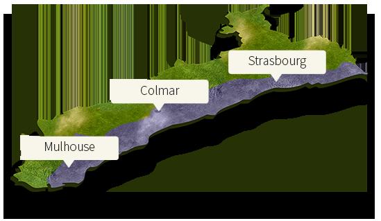 Carte SAGE Alsace
