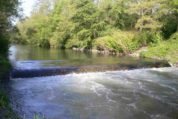 Obstacle à la circulation piscicole - seuil